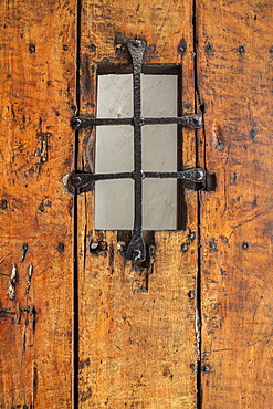 Morro Castle, Old barred door, El Morro, San Juan, Puerto Rico
