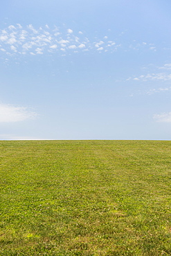 USA, New Jersey, Mendham, Empty meadow, USA, New Jersey, Mendham