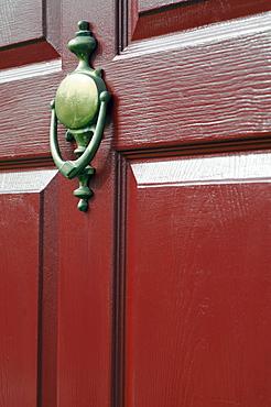 View of door knocker