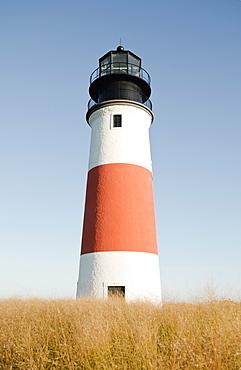 View of lighthouse, Nantucket, Massachusetts
