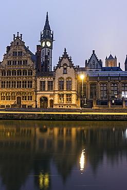 Old town architecture, Belgium, Flemish Region, Ghent