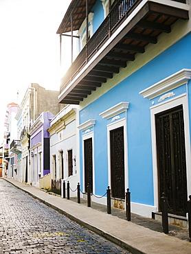 Puerto Rico, San Juan, Narrow streets of old town