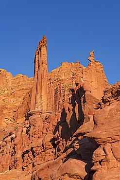 Fisher Towers in Utah, USA