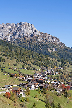 Village in the Dolomites, South Tyrol, Italy