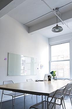 Empty modern office space