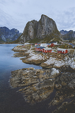 Hamnoy fishing village in Norway