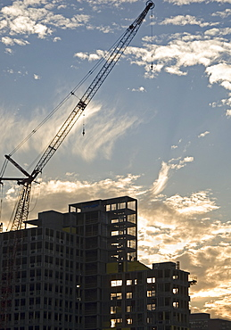 High rise building under construction