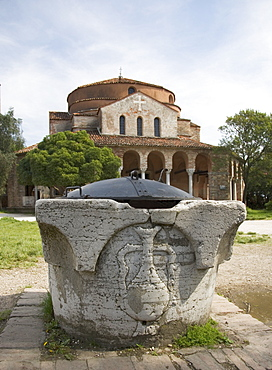 11th century Church of Santa Fosca Torcello Italy