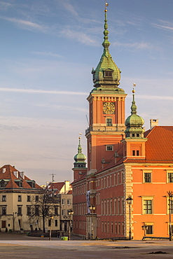 Poland, Masovia, Warsaw, Royal castle in old town square