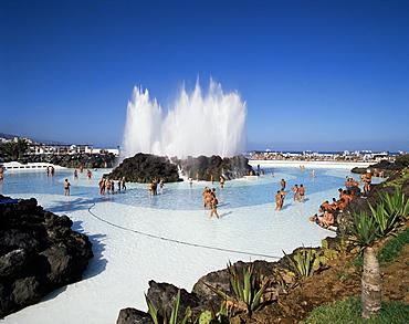 The Lido, Puerto de la Cruz, Tenerife, Canary Islands, Spain, Atlantic, Europe
