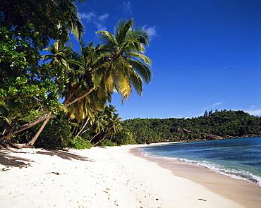 Anse Takamaka, island of Mahe, Seychelles, Indian Ocean, Africa