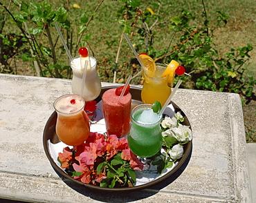 Drinks, Half Moon Club, Montego Bay, Jamaica, West Indies, Caribbean, Central America