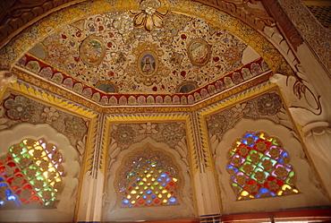 Meherangarh Fort, built in 1459, Jodhpur, Rajasthan, India