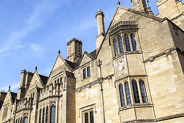 Student accommodation in Magdalen College, Oxford, Oxfordshire, England, United Kingdom, Europe