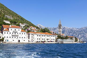 Perast, Bay of Kotor, UNESCO World Heritage Site, Montenegro, Europe