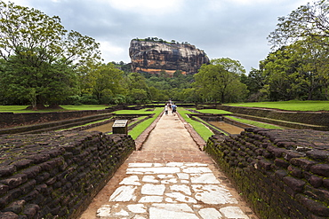Sigiriya (Lion Rock), UNESCO World Heritage Site, Sri Lanka, Asia