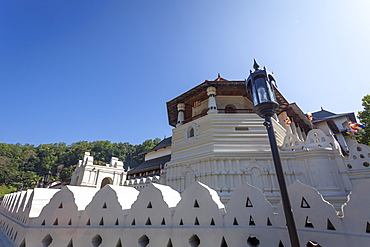 Temple of the Sacred Tooth Relic, UNESCO World Heritage Site, Kandy, Sri Lanka, Asia