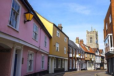 Elm Hill, Norwich, England, UK, Europe
