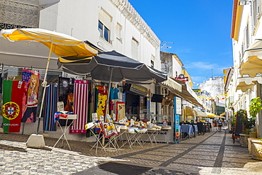 Markets in the Old Town, Albufeira, Algarve, Portugal, Europe