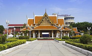 Royal Pavilion Mahajetsadabodin, Phra Nakhon, Bangkok, Thailand, Southeast Asia, Asia
