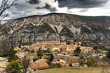 Greolieres, a village in the Maritime Alps (Alpes Maritimes), France, Europe