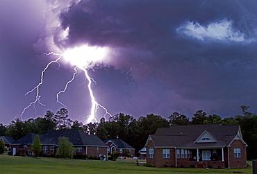 Gadsden, Alabama, Lightnijng; Lightning Storm; Storm; Gadsden; Alabama