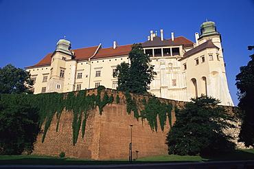 Wawel castle, Krakow, Makopolska, Poland, Europe