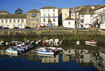 Morning reflections, Falmouth, Cornwall, England, United Kingdom, Europe