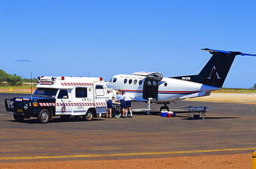 Flying Doctor Service, Broome, Western Australia