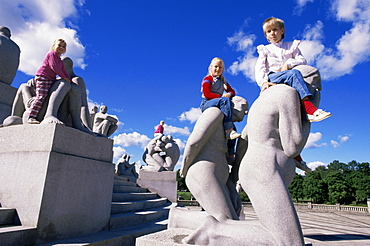 Frogner Park, Oslo, Norway, Scandinavia, Europe