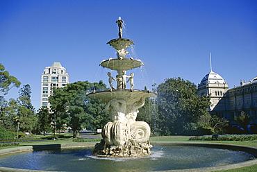 Hochgurtel fountain, Carlton Gardens, Melbourne, Victoria, Australia, Pacific