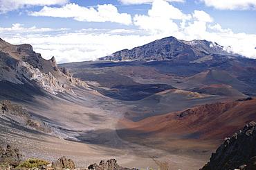 Haleakala Crater, Maui, Hawaii, Hawaiian Islands, United States of America (U.S.A.), North America