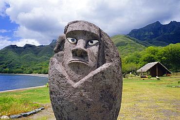 Tiki Taiohae, Nuku Hiva, Marquesas Islands, Pacific Islands