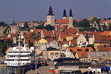 Visby, Gotland, Sweden, Scandinavia, Europe