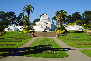 The Conservatory of Flowers, Golden Gate Park, San Francisco, California, United States of America, North America