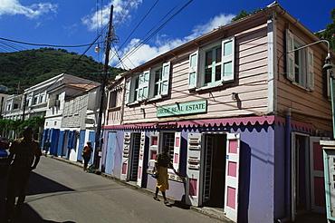 Main street, Road Town, Tortola, British Virgin Islands, West Indies, Caribbean, Central America