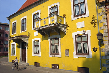 A 17th century house owned by Hans D. Schmidt, Parnu, Estonia, Baltic States, Europe