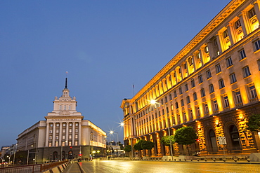 Presidential Palace, Ploshtad Nezavisimost, former Communist Party Head Quarters, Sofia, Bulgaria, Europe