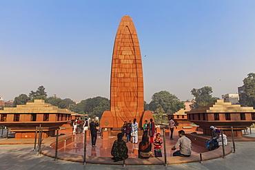Jallianwala Bagh Memorial Garden, Amritsar, Punjab, India, Asia
