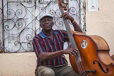 Musician, Santiago de Cuba, Santiago de Cuba Province, Cuba, West Indies, Caribbean, Central America