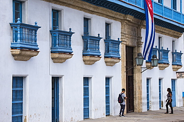 Artisans Palace, Habana Vieja (Old Town), Havana, Cuba, West Indies, Central America