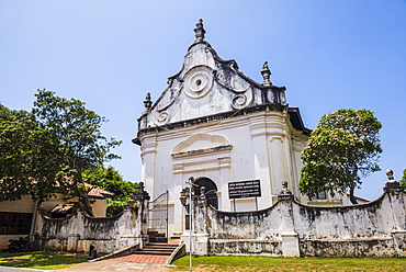 Dutch Reformed Church, Old Town of Galle, UNESCO World Heritage Site, Sri Lanka, Asia