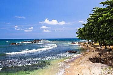 Galle Beach, Old Town of Galle, UNESCO World Heritage Site, Sri Lanka, Asia