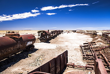 Train Cemetery (Train Graveyard), Uyuni, Bolivia, South America