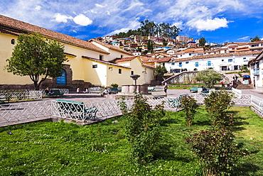 San Blas Square (Plazoleta de San Blas), Cusco, Cusco Region, Peru, South America