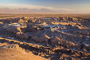 Moon Valley sunset (Valle de la Luna), Atacama Desert, North Chile, Chile, South America
