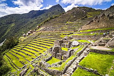 Machu Picchu Inca ruins, UNESCO World Heritage Site, Cusco Region, Peru, South America