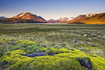 Sunrise at Belgrano Lake (Lago Belgrano), Perito Moreno National Park, Santa Cruz Province, Patagonia, Argentina, South America