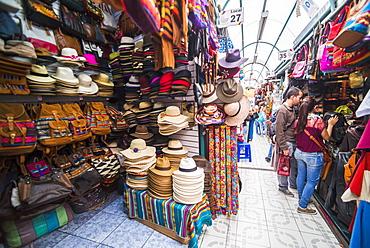 Mariscal Artisanal Market (Mercado Artesanal La Mariscal), Quito, Ecuador, South America