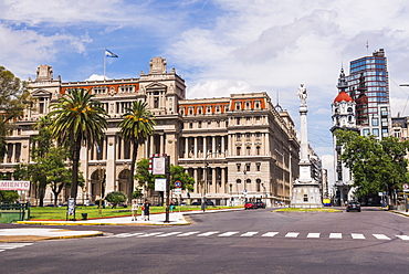 Teatro Colon in Plaza Lavalle (Lavalle Square), Buenos Aires, Argentina, South America
